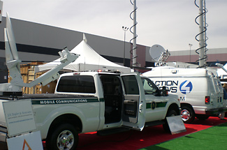 F250.28 DSNG Mobile Communications Truck